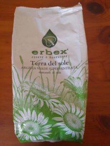 Argilla verde superventilata Erbex.