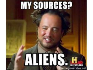 Meme alieni