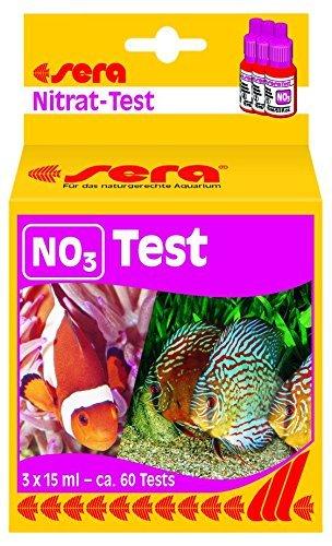 Esempio di test dei nitrati.