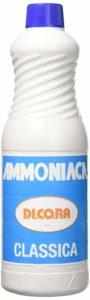 Ammoniaca per pulizie.