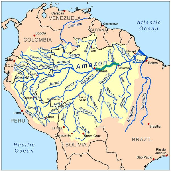 Bacino del Rio delle Amazzon