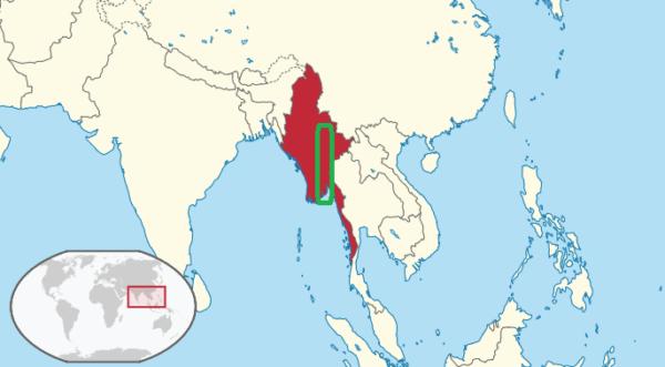 Sittaung in Myanmar.