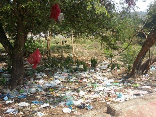 Inquinamento plastiche India